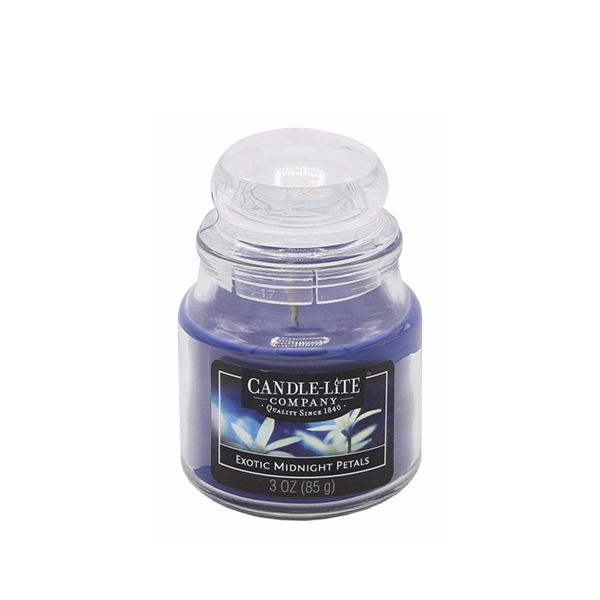 svíčka candle lite exotic midnight petals 85g