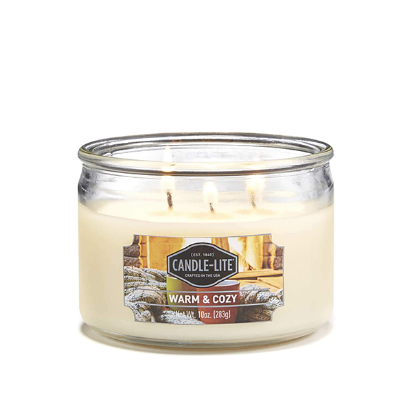 warm and cozy 283g svicka candle lite